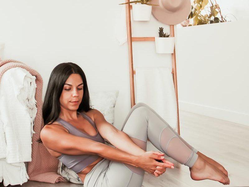 Routine de yoga abdos et torsions