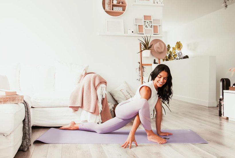 Yoga pour soulager le bas du dos et corriger la posture | Namasté & Coco Latté
