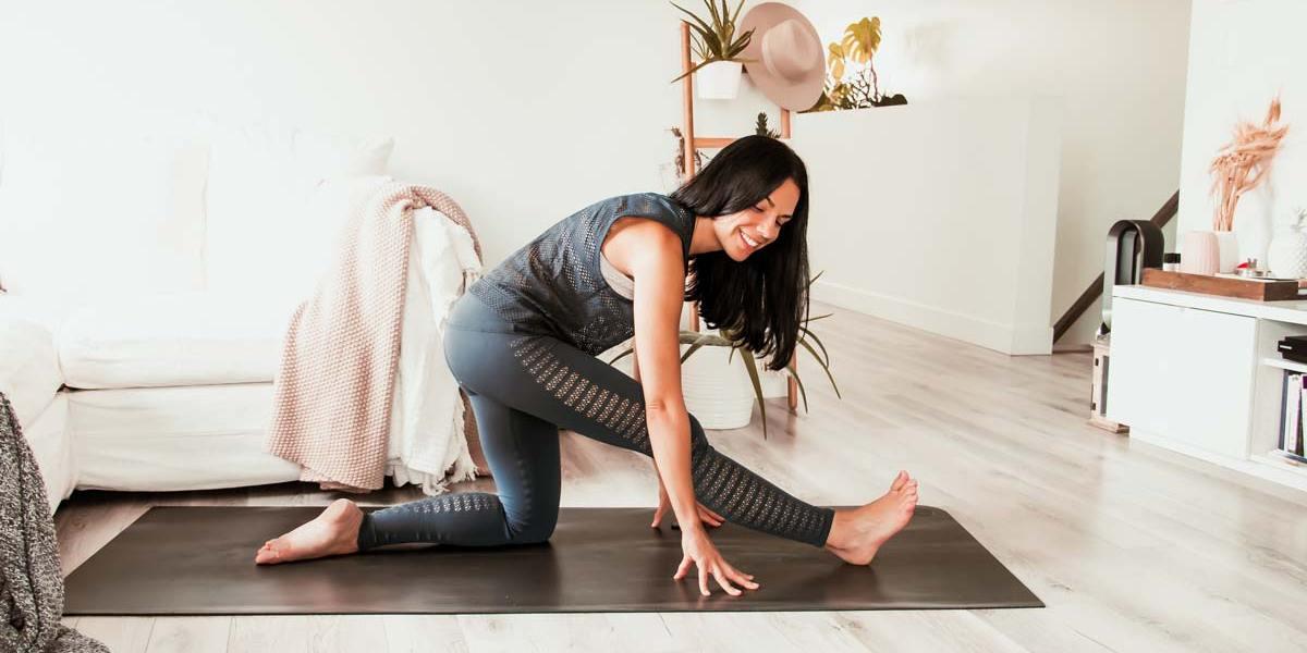 Routine de yoga pour hanches, ischios et bas du dos
