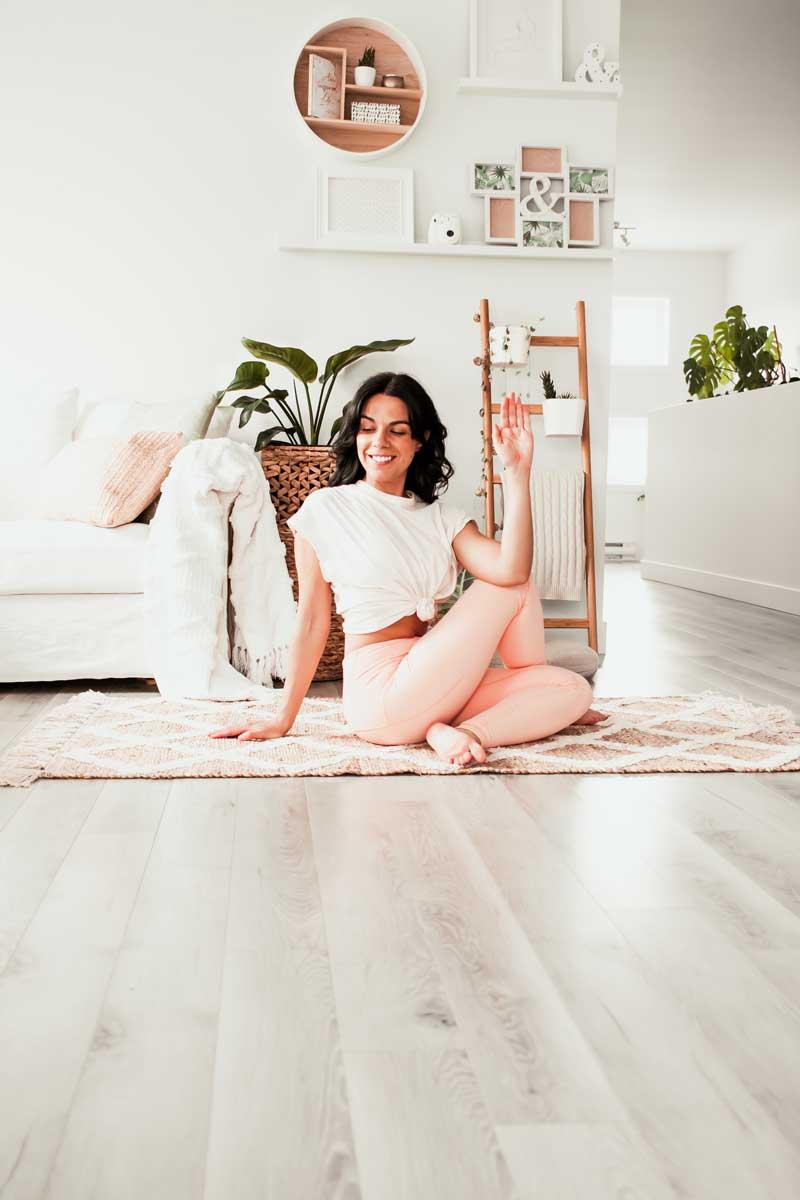 Yoga pour soulager le syndrome du piriforme | Namasté & Coco Latté