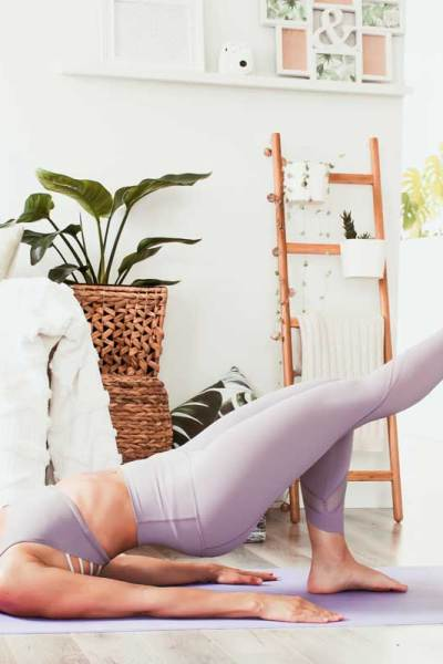 Yoga pour soulager la pubalgie | Namasté & Coco Latté
