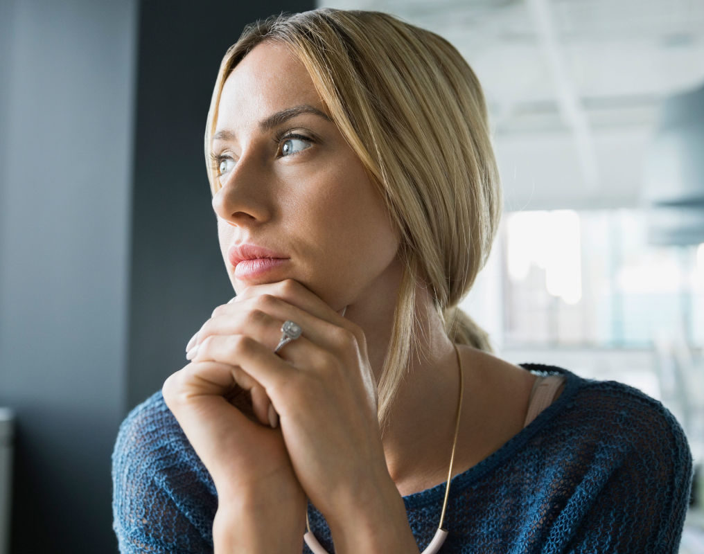 namaste family services woman anxious image