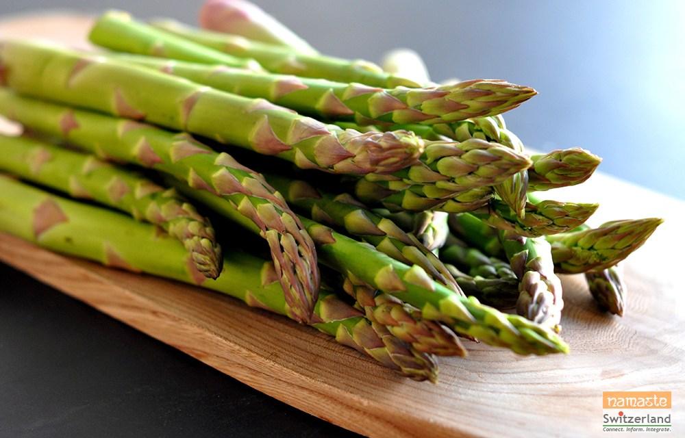 Hello Spring and En Guete… Asparagus!
