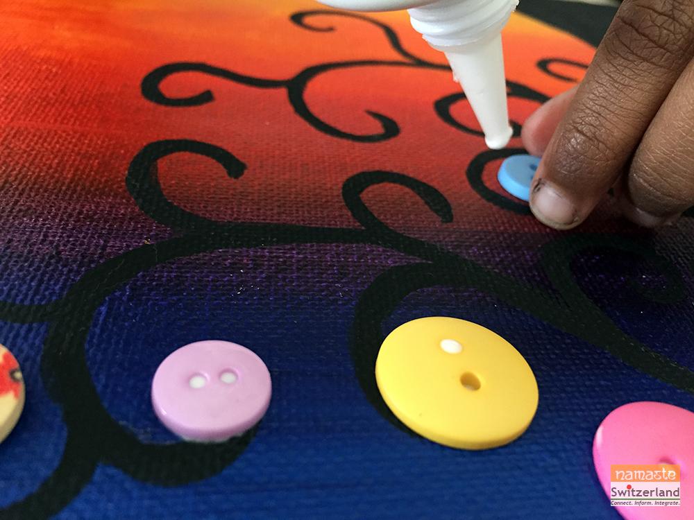 Sticking Buttons