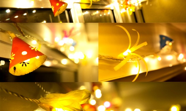 Dress up your string lights this Diwali!