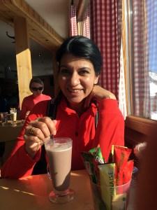 Aradhna Sethi at Café badilatte
