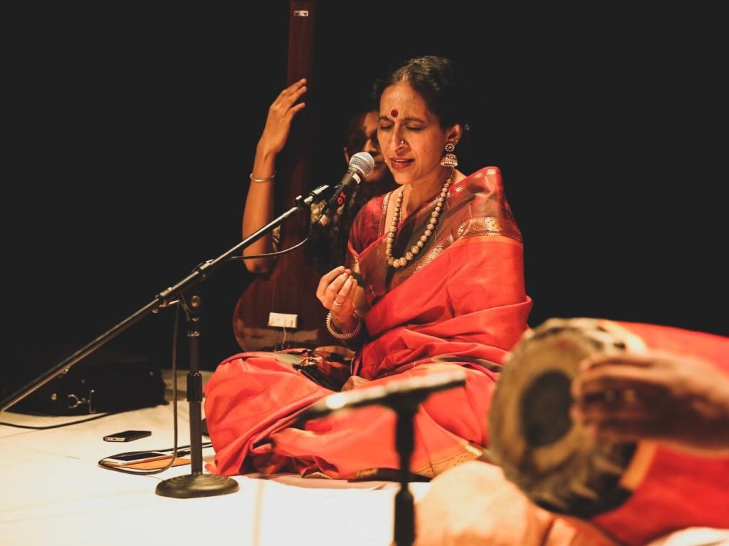 Bombay Jayashri performing at Geneva