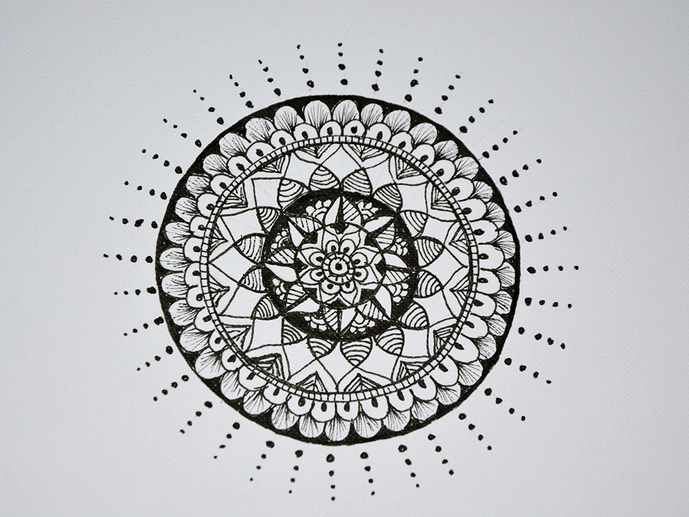 Completed Mandala