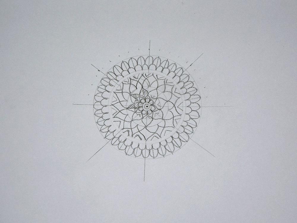 Mandala Step 3