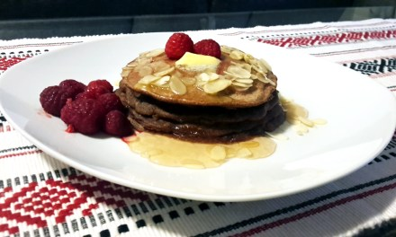Beat the cold with hot Ragi Pancakes