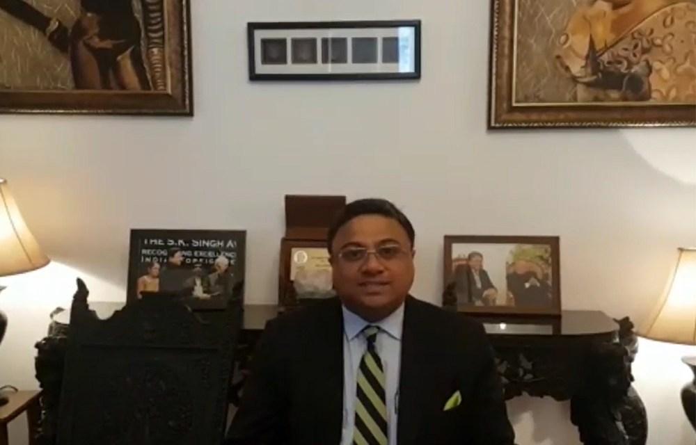 Meet the Ambassador of India, H.E. Mr. Sibi George