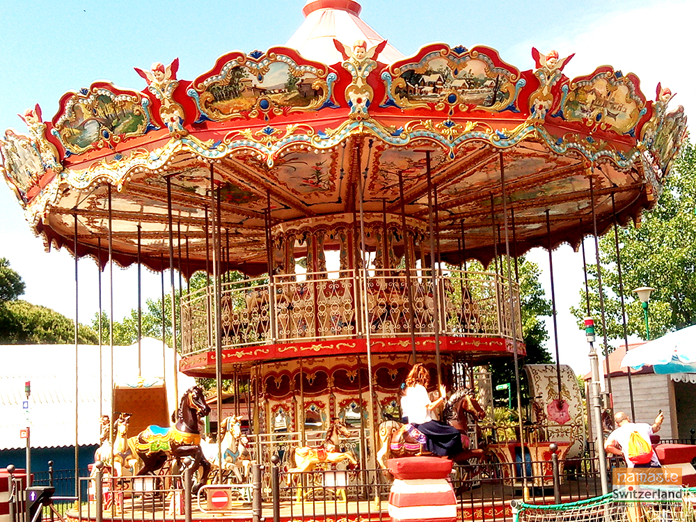 Amusement park at Rimini