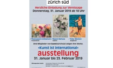 Zurich Sud Kunst Ausstellung