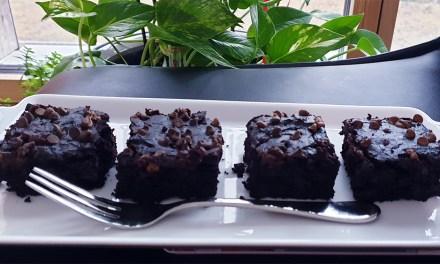 Vegan Avocado Chocolate Brownies