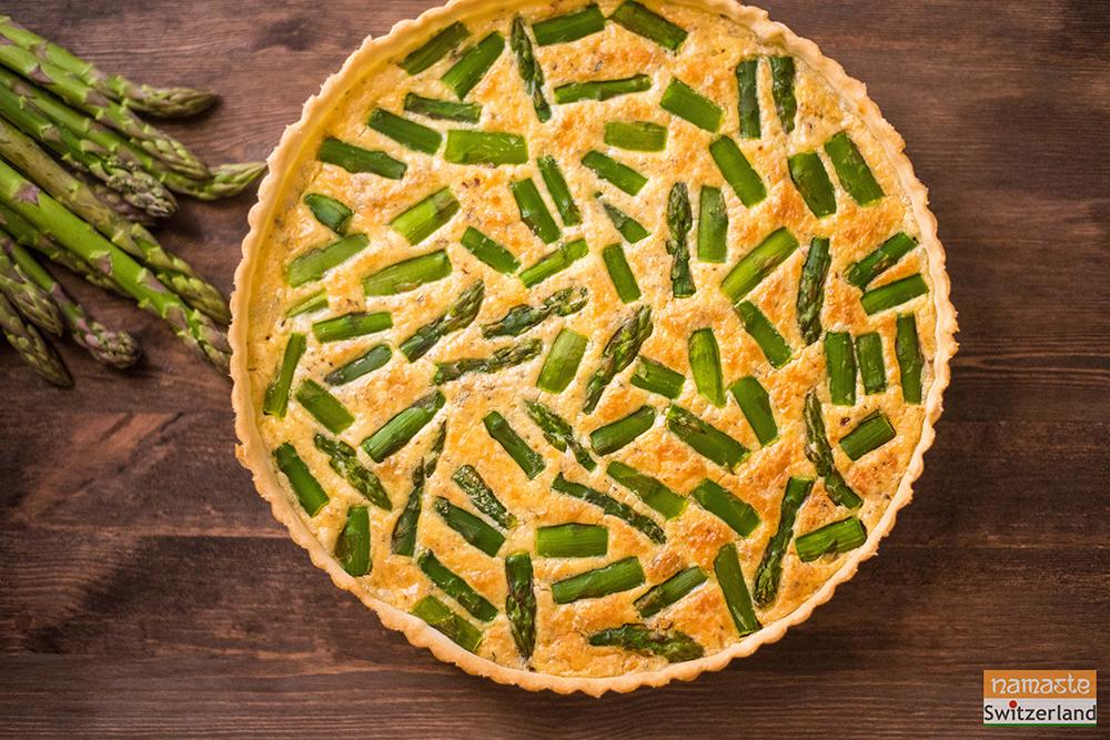 Photo of Asparagus quiche