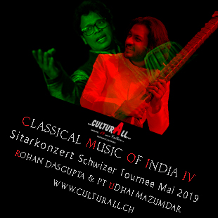 Banner of Sitar and Tabla Concert by Culturall