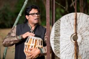 Photo of Tabla maestro Udhai Mazumdar