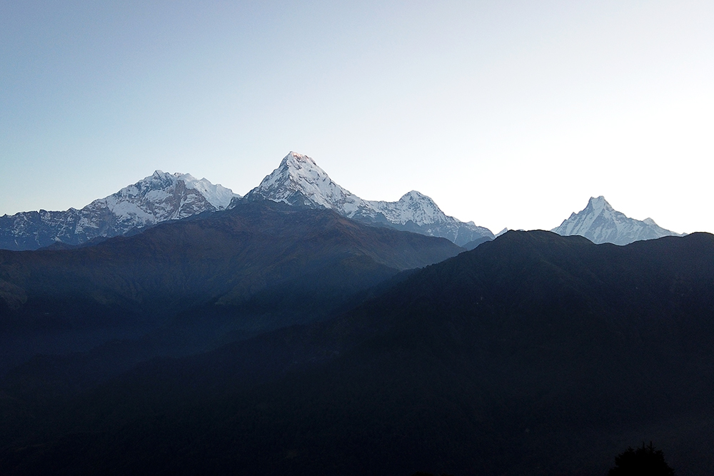 Photo of Peaks in Annapurna range