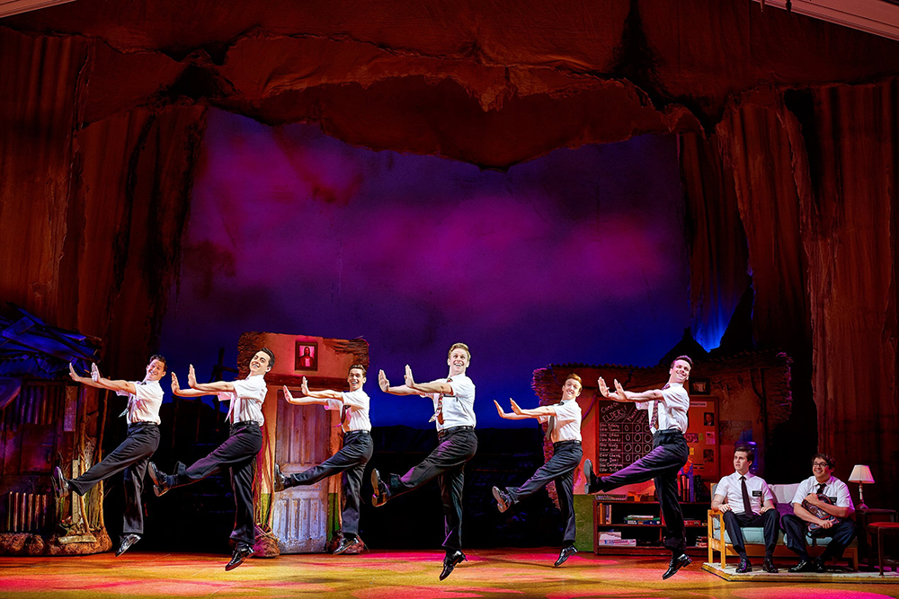 Photo from the play - Book of Mormon