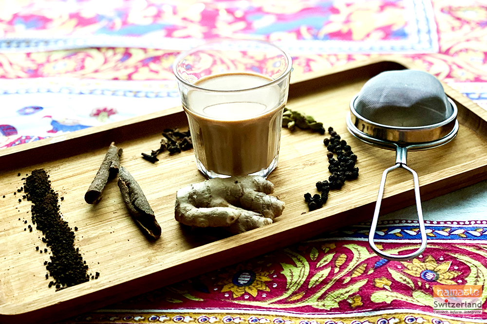 Photo of masala chai
