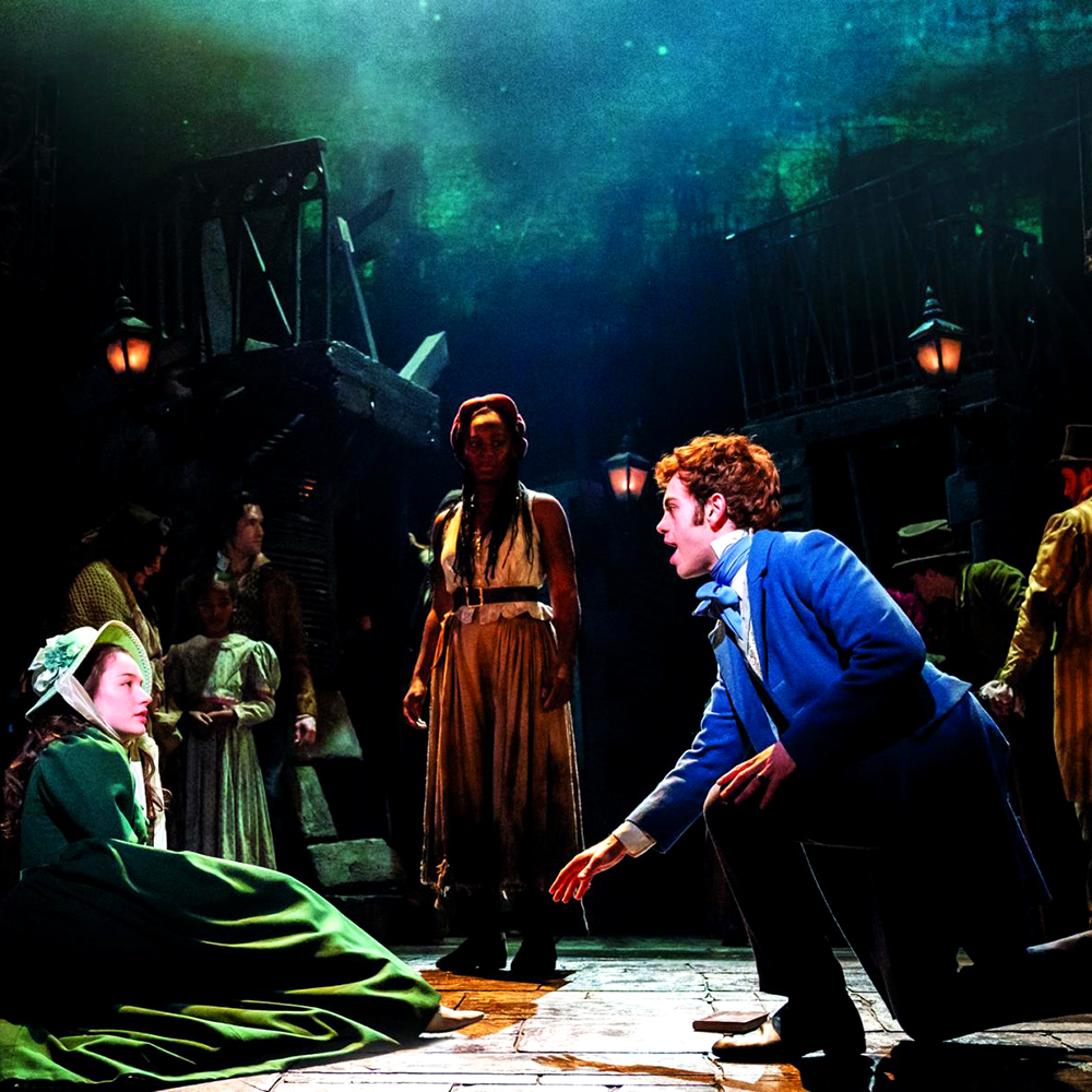 Photo of a scene in the play - Les Misérables