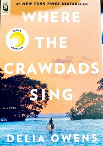 Book cover of Where the Crawdads Song - Delia Owens