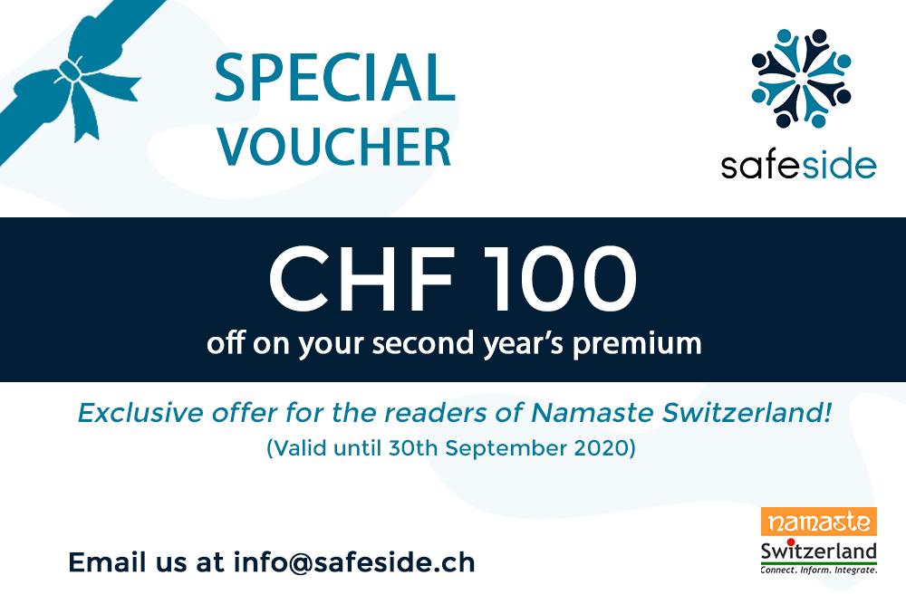 Voucher worth CHF100 for SafeSide