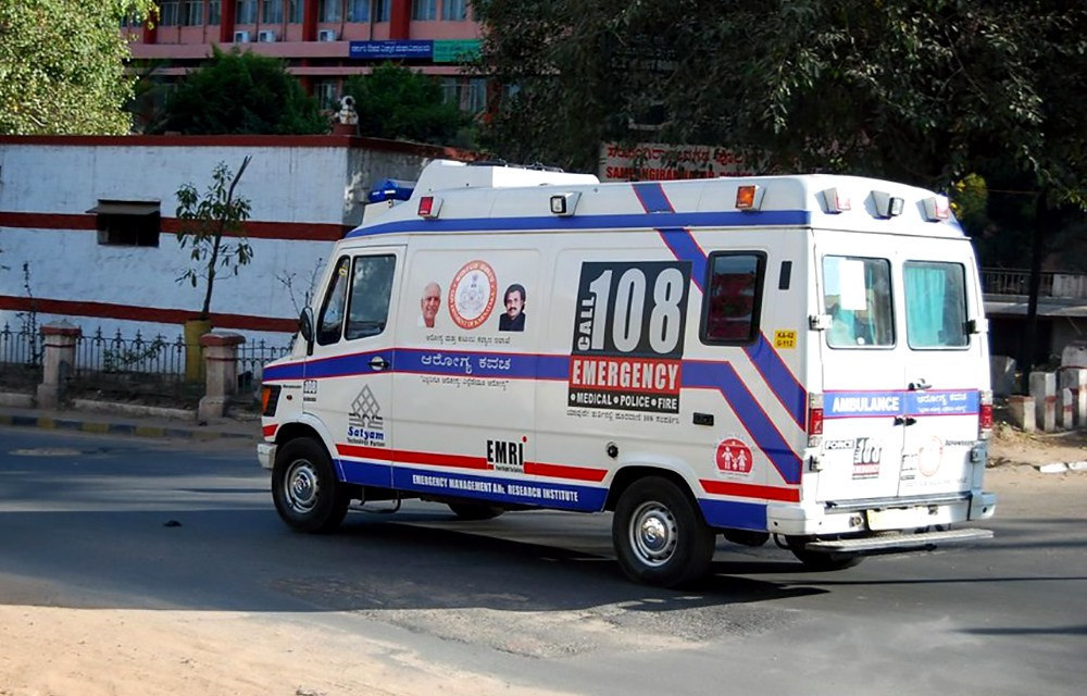 Indian Ambulance Service- making it easier for family back home