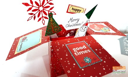 Festive Pop Up Cards