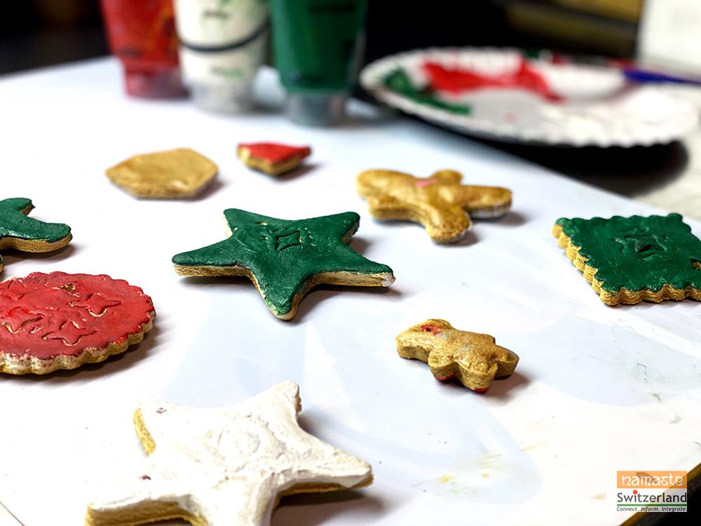Photo of making of DIY Salt dough ornaments