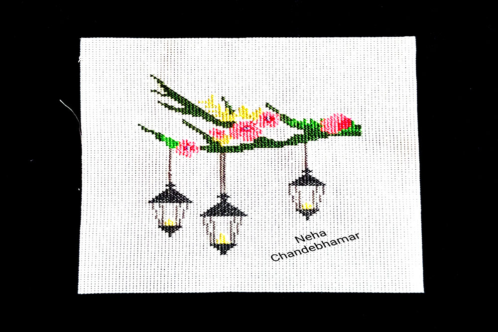 Neha's needlework image