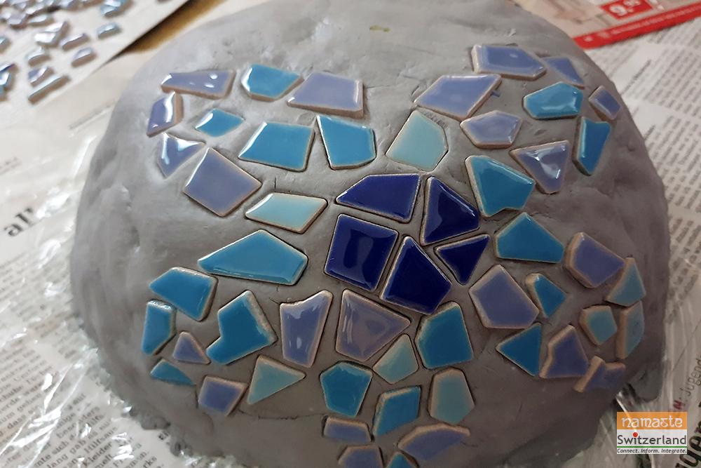 mosaic mushroom step4