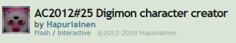 by who 4 digimon