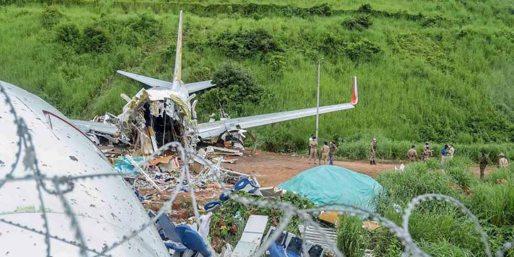 Air India flight crashed thiu mibo
