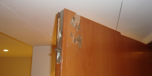 chipped door repair