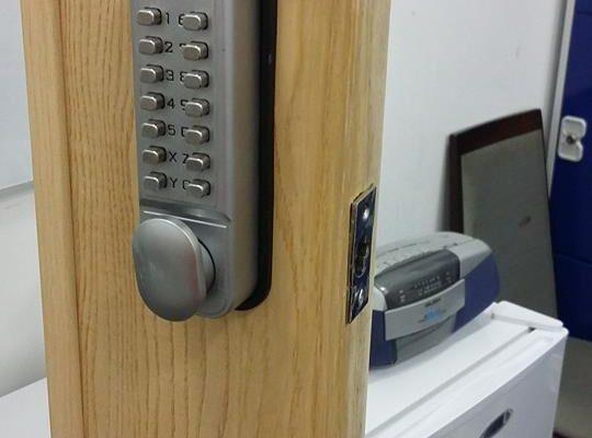 vandalised door repairs