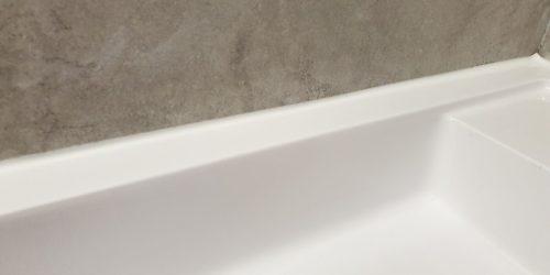 CHIP BATHROOM VANITY SINK UNIT REPAIR MANCHESTER AFTER
