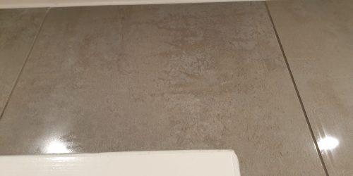 CRACKED BATHROOM WALL FLOOR TILE REPAIR AFTER