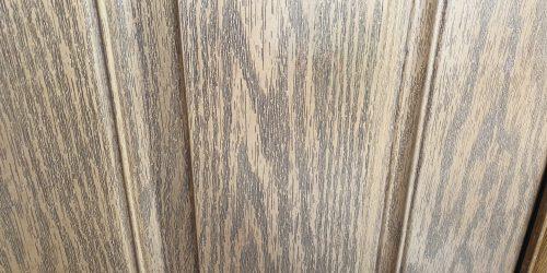 BADLY SCRATCHED WOOD GRAIN COMPOSITE DOOR REPAIR AFTER