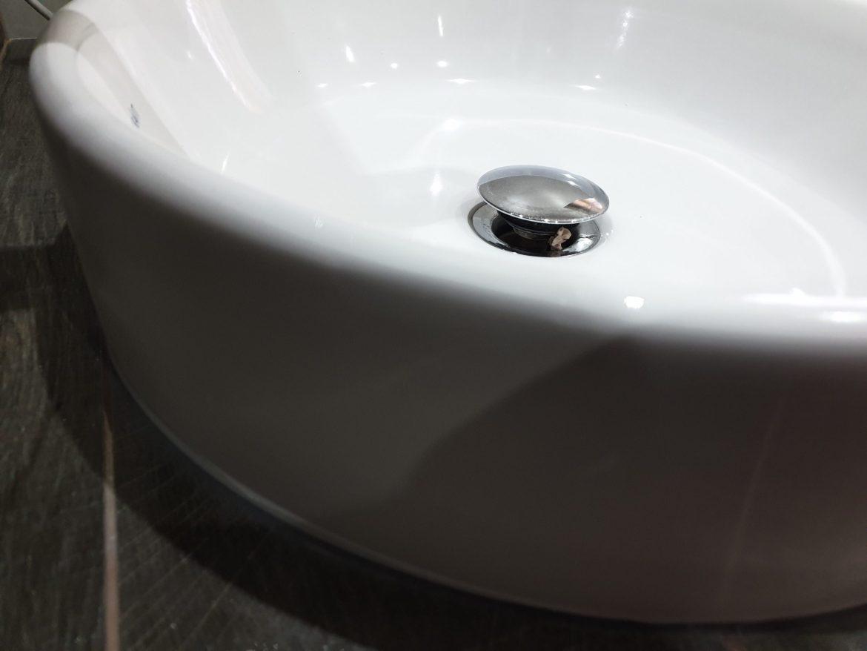 CHIP WASH HAND BASIN SINK PORCELAIN REPAIR AFTER