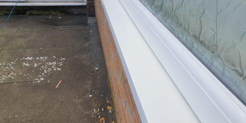 CIGARETTE BURN MARK CHIP CRACK UPVC PLASTIC WINDOW SILL CILL REPAIR AFTER
