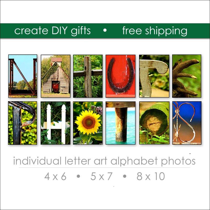 Nature Letter Art Prints