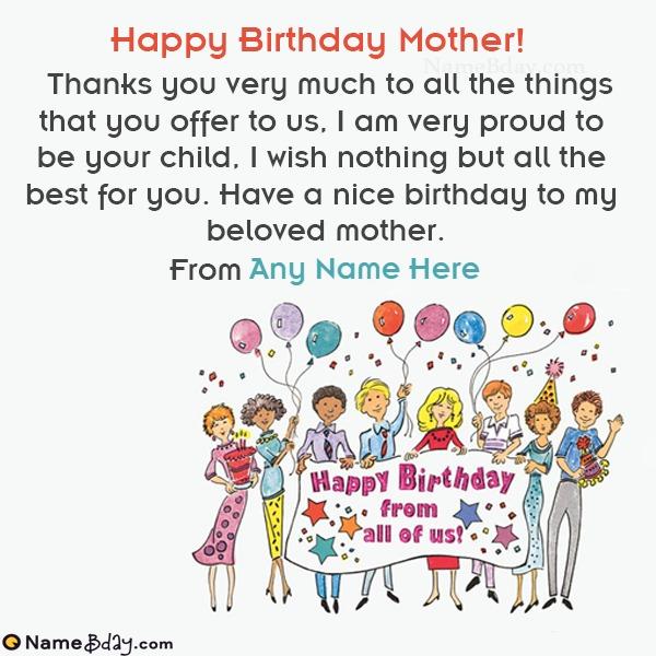 Amazing Happy Birthday Mummy Images With Wishes