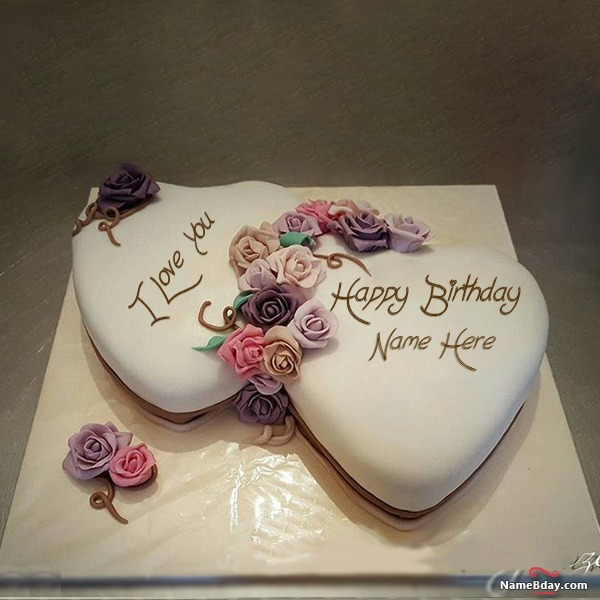 Download Wife Birthday Cake With Name And Photo
