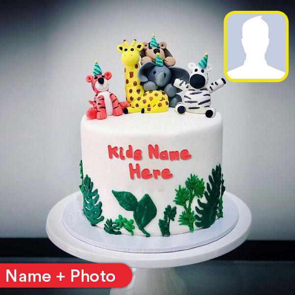 Happy Birthday Cake With Name For Kids
