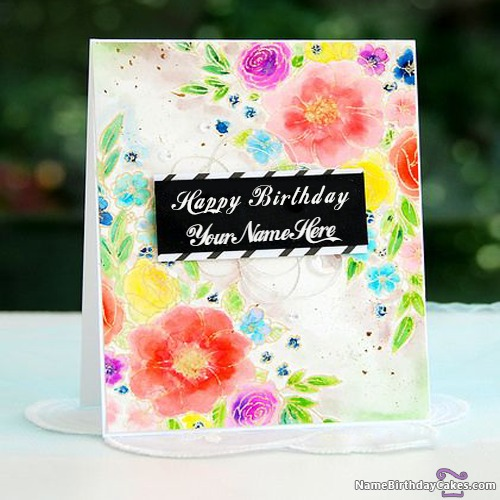 happy birthday wishes and cards with name