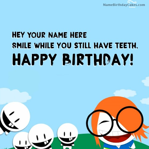 Happy Birthday Crazy Essage