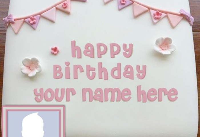Best Editor For Happy Birthday Cake With Name