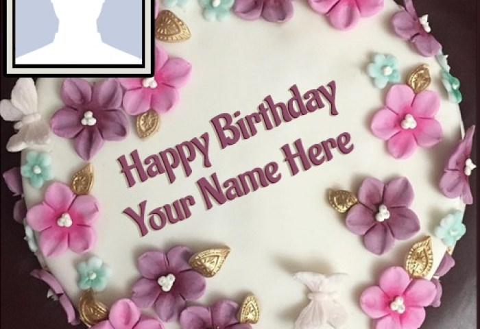 200 Beautiful Birthday Cakes For Girls With Name Photo