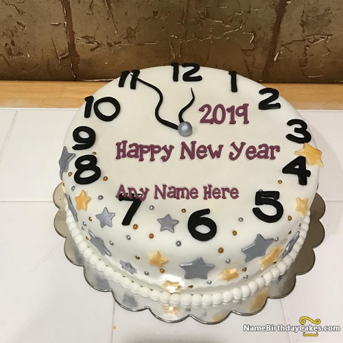New Years Eve Cake 2020 With Name